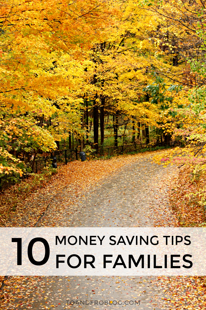 Money Saving Tips for Families