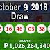 6/58 Lotto Result October 9, 2018