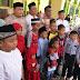 Kunjungi Masjid Azizi, Ketua Cana Santuni 200 Yatim Piatu