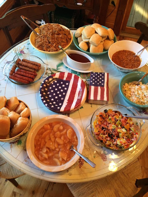 Fourth of July Buffet