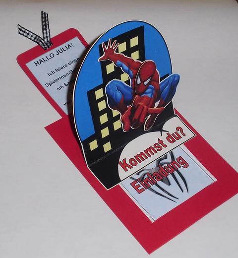 mamapias mottoparty-kindergeburtstage: spiderman