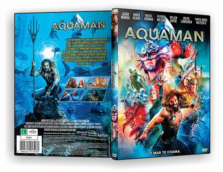 CAPA DVD – Aquaman – DVD-R OFICIAL