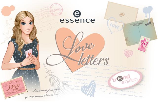 Essence LOVE LETTERS - edycja limitowana