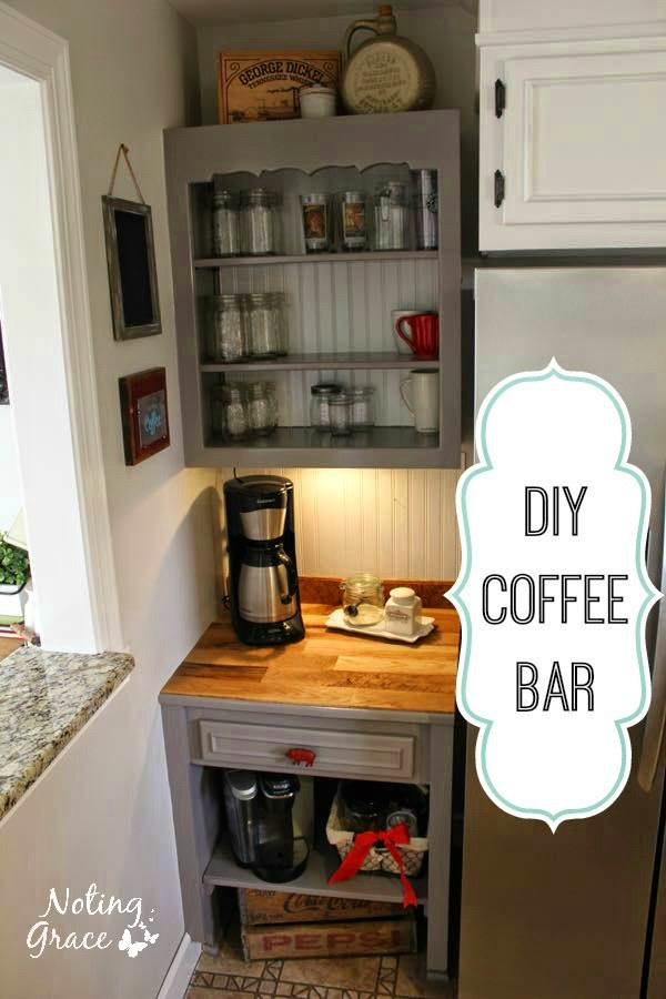 Noting Grace Farmhouse Kitchen Remodel The Coffee Bar