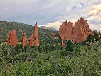 Garden of the Gods in Colorado Springs, CO