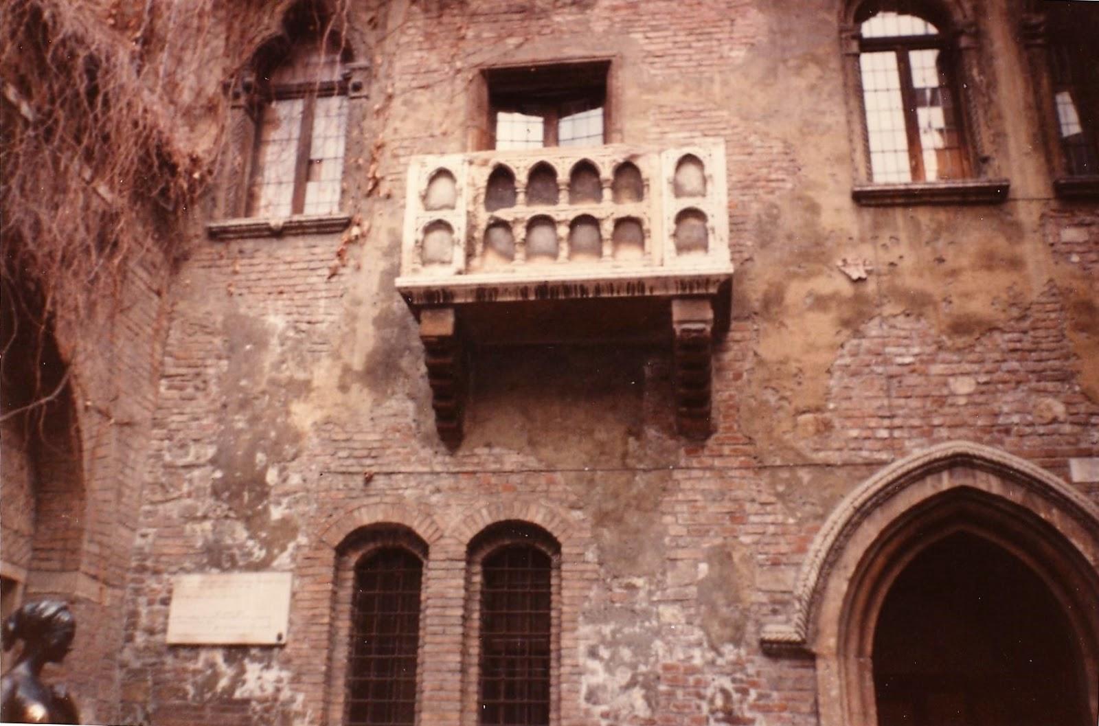 TOP TENNIS: VERONA IL BALCONE DI ROMEO E GIULIETTA