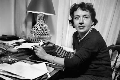"Marguerite Duras ""Les Impudents"" 1943 - Photo courtesy of womanns-world.com"