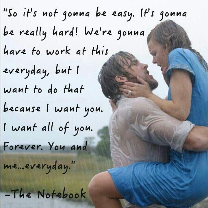 The Notebook Movie Love Quotes