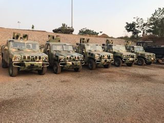 About the locally-made Nigerian Military-grade armoured vehicles by Innoson