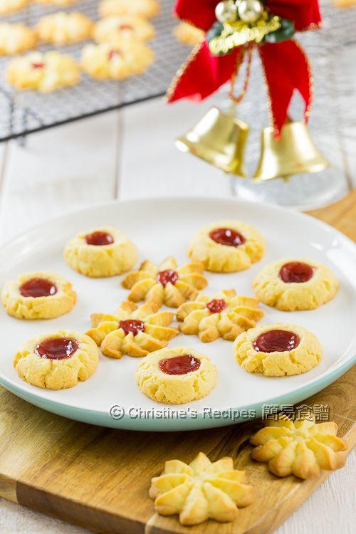 果醬牛油曲奇餅 Butter and Jam Cookies01