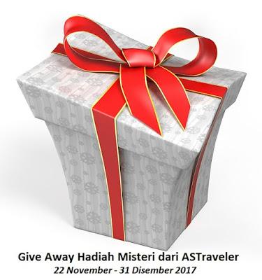 Give Away Hadiah Misteri dari ASTraveler!