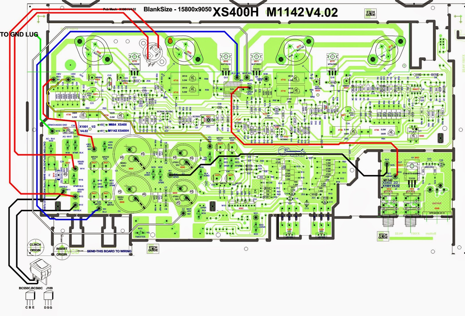 sound bar wiring diagram