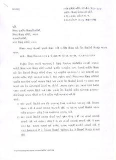 मानद वेतन से शा. शिक्षण और चित्र के प्रवासी शिक्षकों की नियुक्ति की करने हेतु पत्र