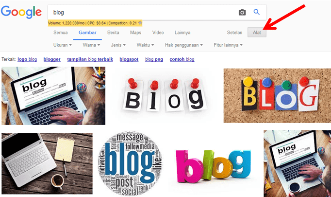 Tips mencari gambar bebas hak cipta di Google