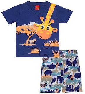 Saldos de roupas infantis