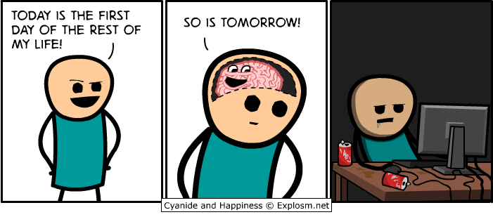Cyanide and Happiness another awesome webcomic
