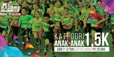 Radana Run 5K 2016 Bekasi