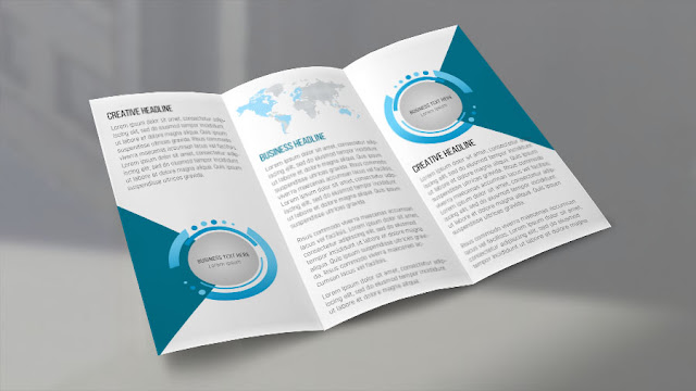 tri-fold-brchure Creative Trifold Brochure Design - Photoshop Tutorial download
