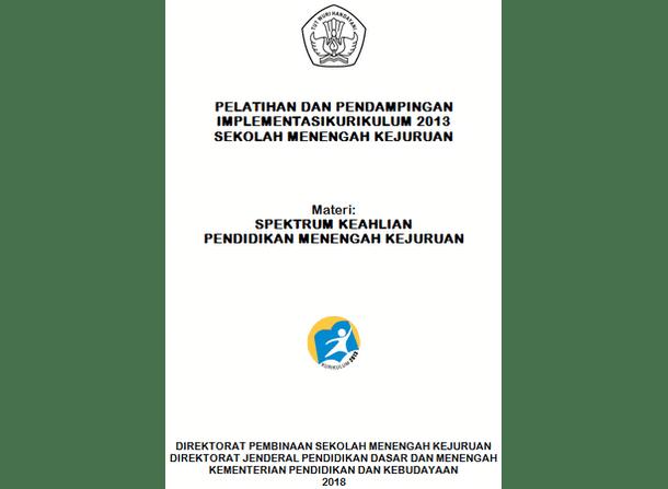 Spektrum Keahlian PMK (Pendidikan Menengah Kejuruan) 2018