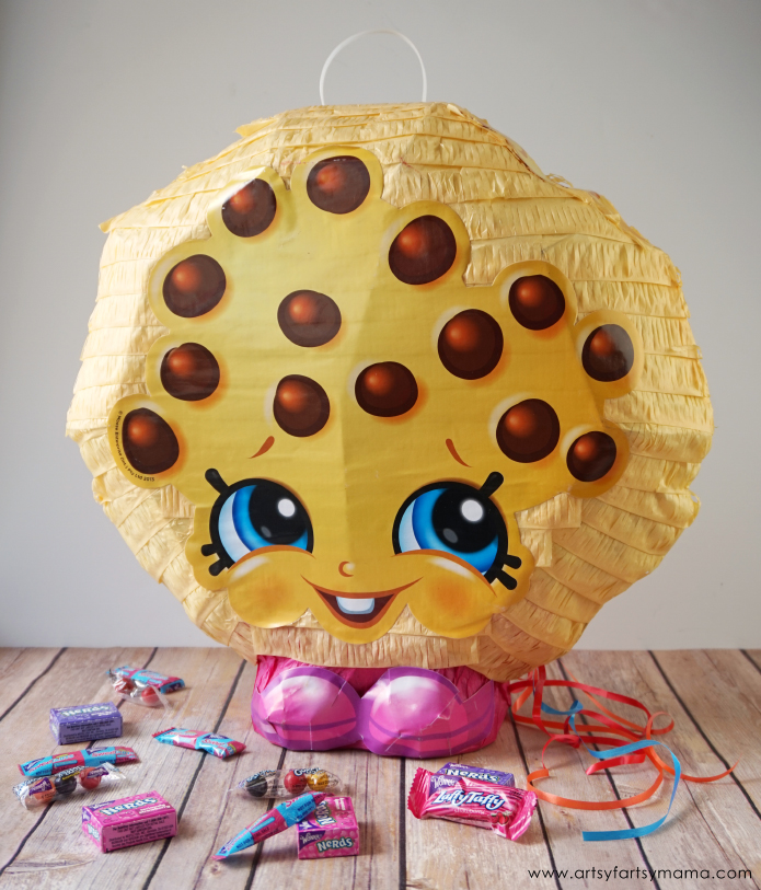 Grab a Kooky Cookie Piñata for an Amazing Shopkins Birthday Party on a Budget!