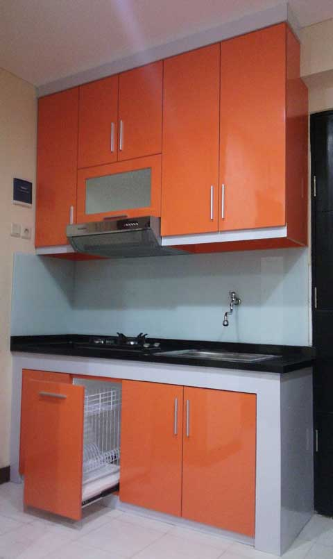 kitchen set minimalis simpel