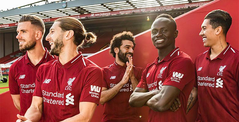 2ba8691fc Liverpool 18-19 Home Kit Released - Footy Headlines