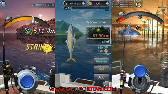 Kail Pancing Fishing Hook Mod Apk Free Download