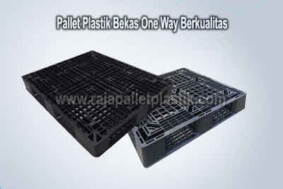 Jual Pallet Plastik Bekas One Way Series Murah