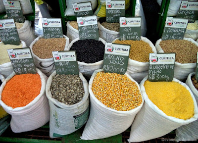 Mercado Municipal de Curitiba - grãos
