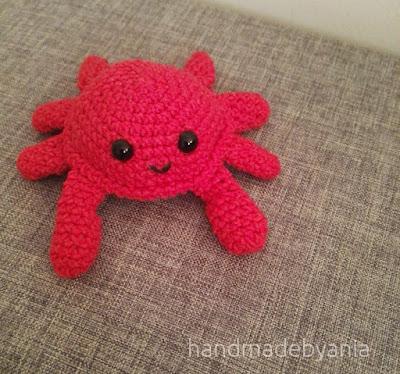 Crabby – cute crochet crab – free pattern/ Crabby – uroczy szydełkowy krab – darmowy wzór