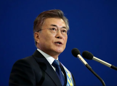 Moon Jae-in sworn in as South Korea's new president
