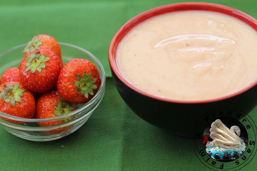 Éclairs aux fraises