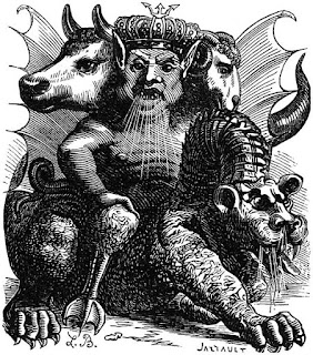 Goetic Demon king Asmodeus