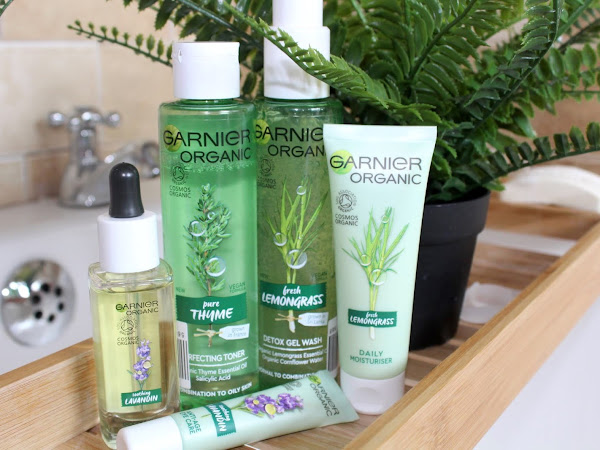 Garnier Organic Skincare, all over my face