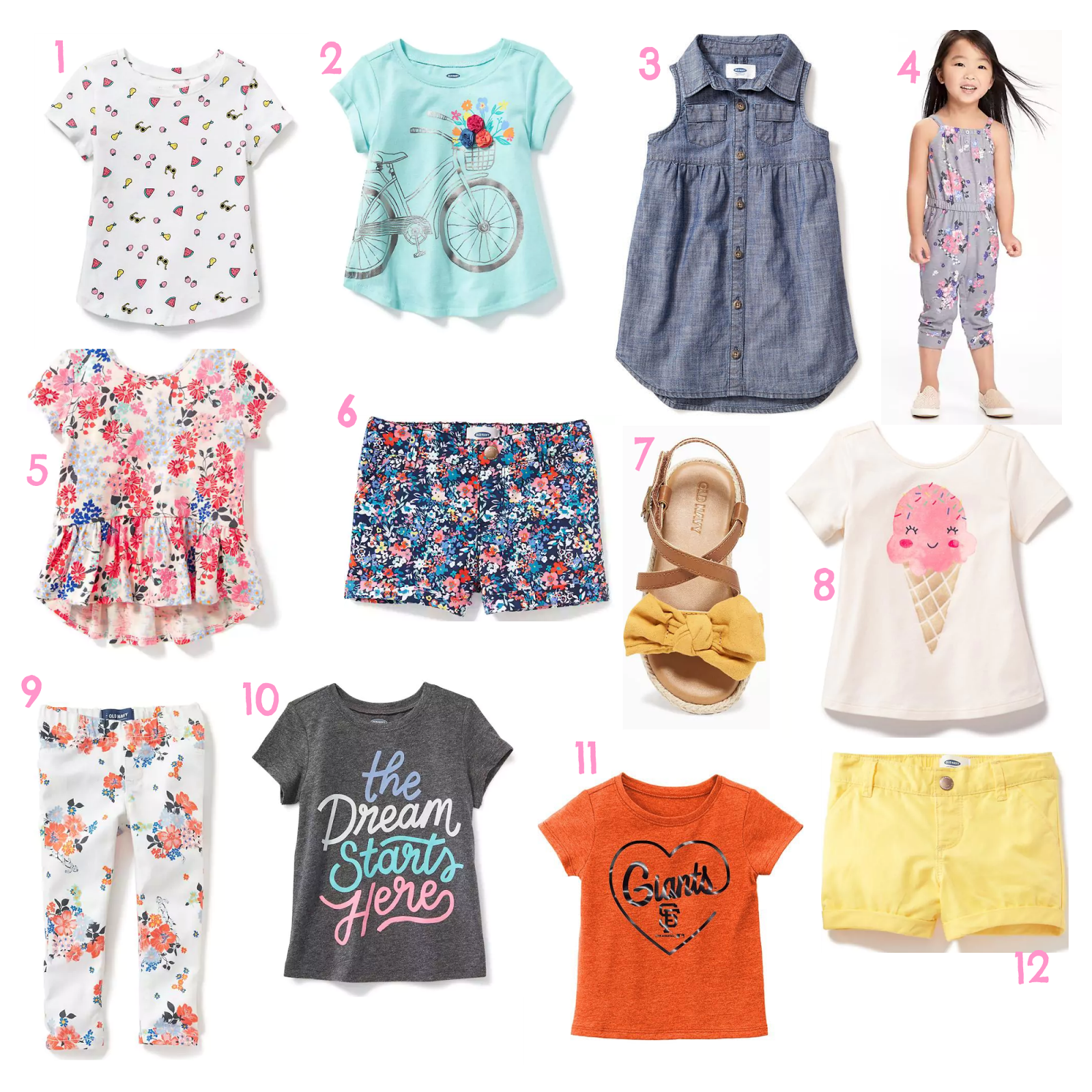 Toddler Spring and Summer Wear