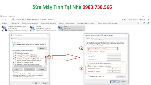 Đặt địa chỉ IP về thành IP động - H06