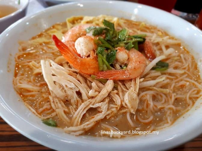 I Ordered Laksa Sarawak Special