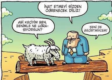 Özer Aydoğan - İnat etmeyi sizden öğrenecek değiliz!