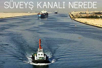 Süveyş kanalı nerede
