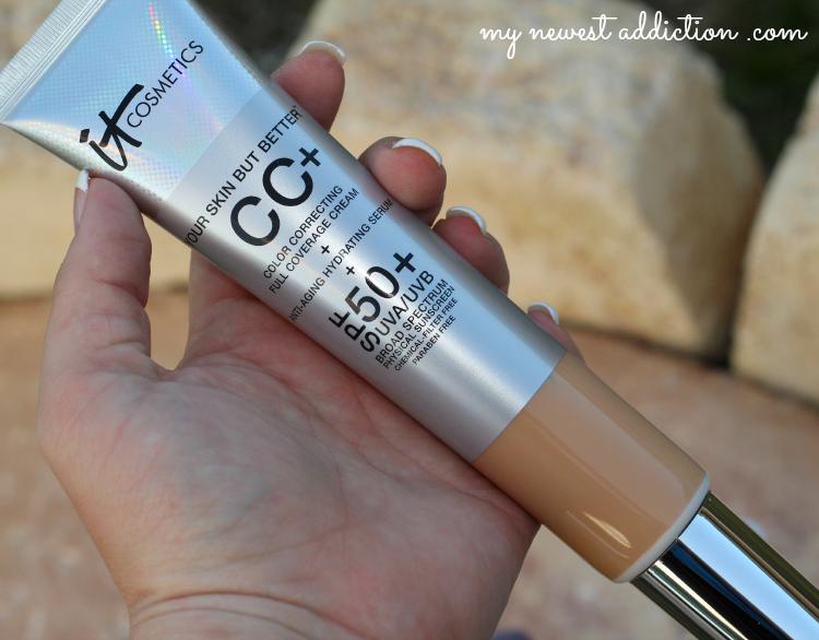 IT Cosmetics CC Your Way To Beautiful Skin, TSV, CC Cream, brush, lip cc+ cream, tightline waterproof