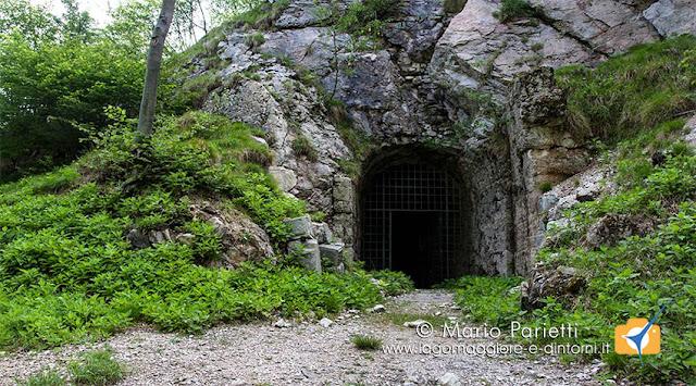 Forte di Vallalta, ingresso cannoniere