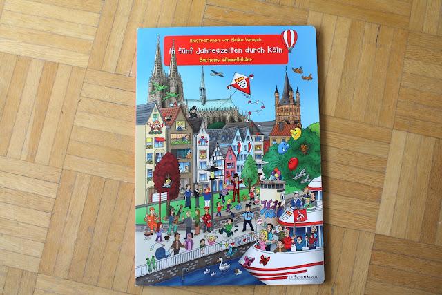 In fuenf Jahreszeiten durch Koeln Kinderbuchtipp Lieblingsbuch 2 Jahre