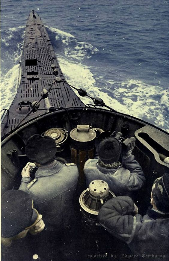 U-331 Color Photos World War II worldwartwo.filminspector.com
