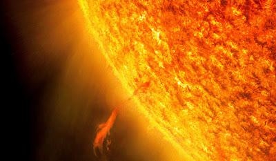 A Nap kiszámíthatatlanul viselkedik