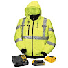 DEWALT DCHJ070C1-XL 20V/12V MAX High-Vis Heated Jacket Kit, High-Vis, X-Large