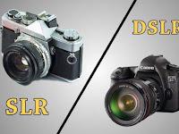 Perbedaan Antara Kamera SLR dan DSLR