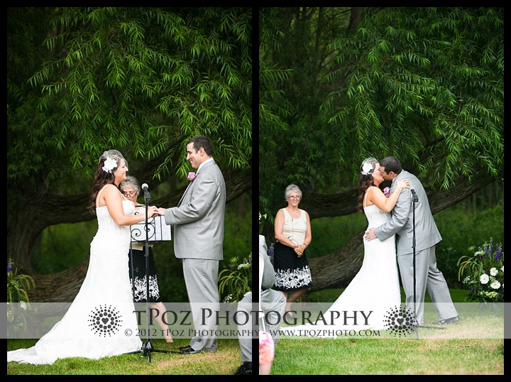 Duke Farm Wedding Ceremony