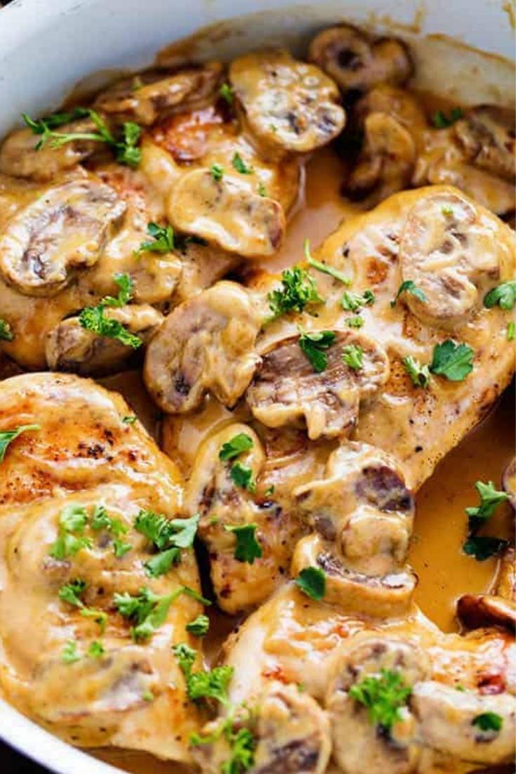 Creamy Chicken Marsala Recipe