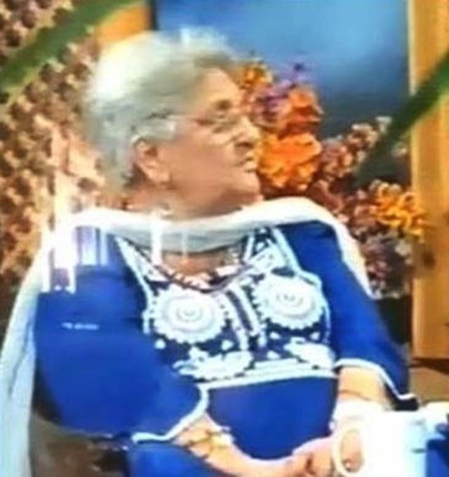 Rita Jitendra murió en un programa en vivo.