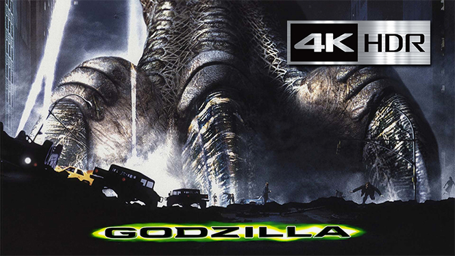 Godzilla (1998) REMUX 4K UHD [HDR] Latino-Castellano-Ingles